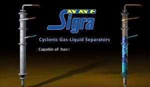 sigra cyclonic gas liquid separators